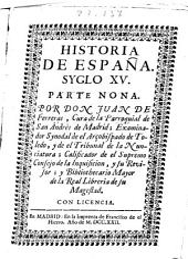 Historia de España: syglo XV : parte nona