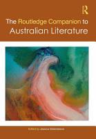 The Routledge Companion to Australian Literature PDF
