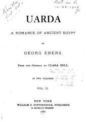 Uarda: A Romance of Ancient Egypt, Volume 2