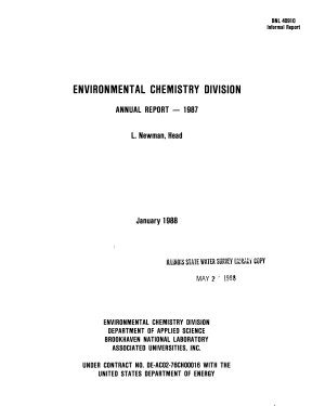 Environmental Chemistry Division Annual Report PDF