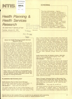 Health Planning   Health Services Research PDF