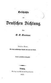 Geschichte der deutschen Dichtung: Band 5