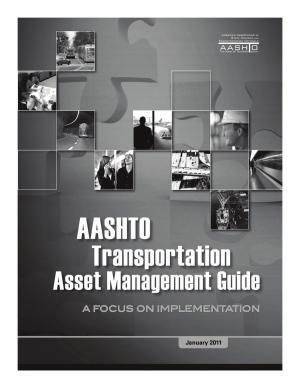 AASHTO Transportation Asset Management Guide PDF