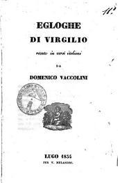 Egloghe di Virgilio