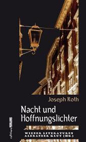Nacht und Hoffnungslichter: Wiener Literaturen
