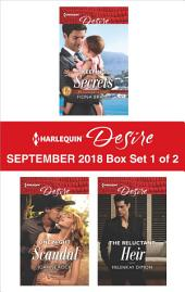 Harlequin Desire September 2018 - Box Set 1 of 2: Keeping Secrets\One Night Scandal\The Reluctant Heir