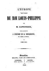 L'Europe depuis l'avénement du roi Louis-Philippe: pour faire suite à l'histoire de la Restauration, Volume7