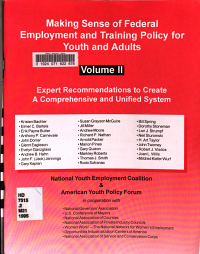 Making Sense of Federal Employment and Training Policy for Youth and Adults PDF