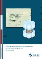 Analyse des Substratspektrums der ClpCP Protease aus Corynebacterium glutamicum PDF