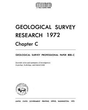 Geological Survey Professional Paper PDF