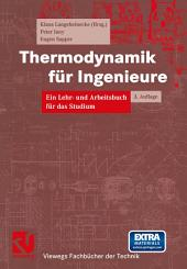 Thermodynamik für Ingenieure: Ausgabe 3