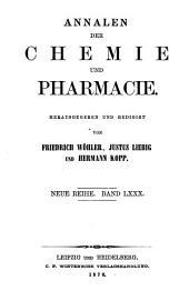 Annalen der Chemie und Pharmacie: vereinigte Zeitschrift des Neuen Journals der Pharmacie für Ärzte, Apotheker und Chemiker u. des Magazins für Pharmacie und Experimentalkritik, Band 156