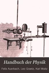 Handbuch der Physik: Band 1,Teil 1