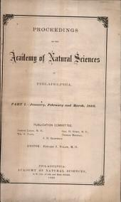 Proceedings of The Academy of Natural Sciences (Part I -- Jan., Feb., and Mar., 1880)