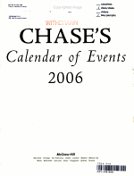 Chase's Calendar of Events 2006