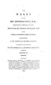 The Works of the Rev. Jonathan Swift, D.D., Dean of St. Patrick's, Dublin: Volume 11