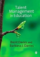 Talent Management in Education