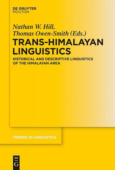 Trans Himalayan Linguistics PDF