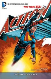 Superman - Action Comics Vol. 5: What Lies Beneath (The New 52)