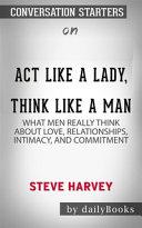 Act Like a Lady  Think Like a Man PDF