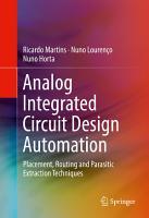 Analog Integrated Circuit Design Automation PDF