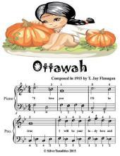 Ottawah - Easiest Piano Sheet Music Junior Edition