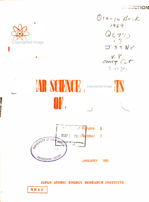 Nuclear Science Abstracts of Japan PDF