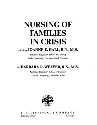 Nursing of Families in Crisis PDF