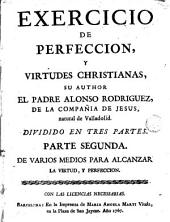 Exercicio de perfeccion y virtudes christianas, 2
