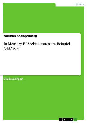 In Memory BI Architectures am Beispiel QlikView PDF
