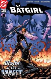 Batgirl (2000-) #64