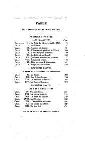 Louis-Philippe-Joseph Egalité: scénes contemporaines, Volume1