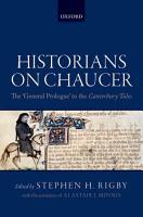 Historians on Chaucer PDF