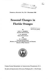 Seasonal changes in Florida oranges: Volumes 751-775