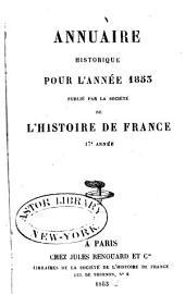 Société de l'histoire de France: Volume72