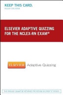 Elsevier Adaptive Quizzing For The Nclex Rn Exam 36 Month Retail Access Card  Book PDF