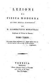 Lezioni di fisica moderna: Volume 3