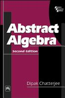 ABSTRACT ALGEBRA PDF