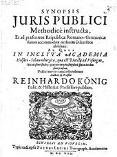 Synopsis juris publici (etc.)