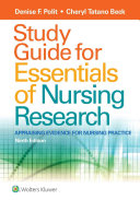 Study Guide for Essentials of Nursing Research PDF