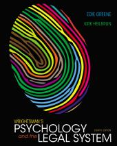 Wrightsman's Psychology and the Legal System: Edition 8