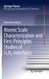 Atomic Scale Characterization and First-Principles Studies of Si3N4 Interfaces