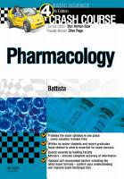 Crash Course  Pharmacology Updated Edition   E Book PDF