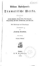 William Shakespeare's dramatische Werke: Band 1