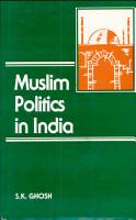 Muslim Politics in India PDF