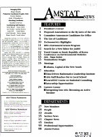 Amstat News PDF