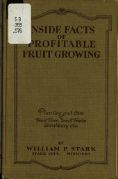 Inside Facts of Profitable Fruit Growing