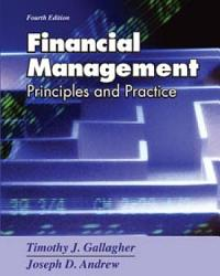 Financial Management Principles And Practice Book PDF