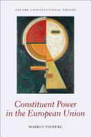 Constituent Power in the European Union PDF