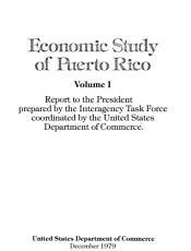 Economic Study of Puerto Rico PDF
